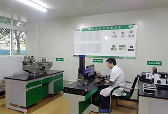 Measuring and Metallographic Analysis Room